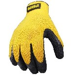 DeWalt Gloves Textured Rubber Coated Gripper  DPG70