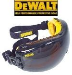DeWalt Safety Goggles Concealer Smoke Anti-Fog Lens Model DPG82-21