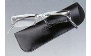 Eschenbach 2910-30 Mini-Frame Reading Glasses With Case 3.0 Diopter