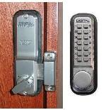 Lockey 2200 Keyless Mechanical Digital Deadbolt Door Lock