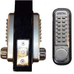 Lockey 2210DC Keyless Mechanical Digital Double Sided Combination Deadbolt Door Lock