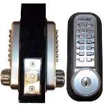Lockey 2210DC KO Mechanical Digital Double Sided Combination Deadbolt Door Lock With Key Override