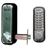 Lockey 2230 Keyless Mechanical Digital Spring Latch Door Lock