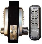 Lockey 2230DC Keyless Mechanical Digital Double Sided Combination Spring Latch Door Lock