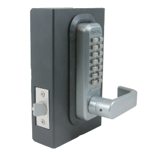 Lockey 2835 MG Keyless Mechanical Digital Spring Latch Door Lock