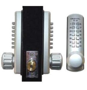 Lockey 3210DC Keyless Mechanical Digital Double Sided Combination Spring Latch Door Lock