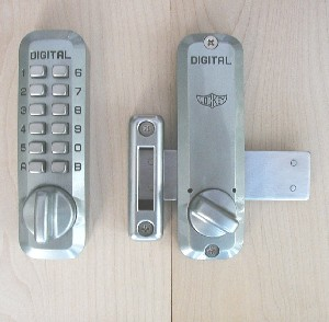 Lockey M220 Keyless Mechanical Digital Deadbolt Door Lock