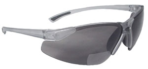 Radians Bifocal Reading Safety Glasses C2 Rx Smoke Lens 3.0 Model C2-230