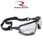 Radians Safety Glasses Goggles Dagger Clear Anti Fog Lens Model DG1-11