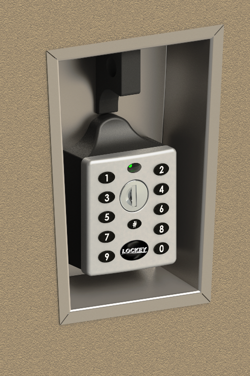 Lockey EC-790 Keyless Electronic Locker Lock