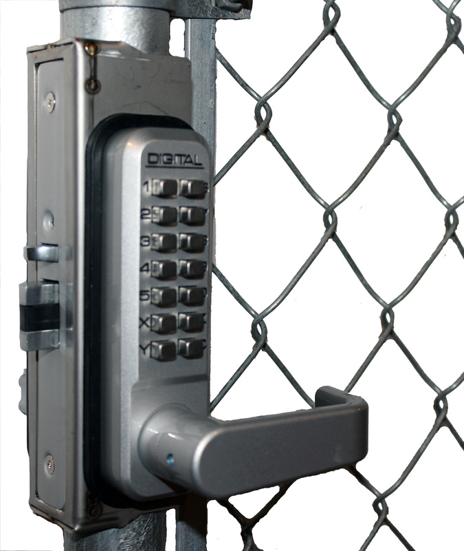 Lockey GB2985-LINX Chainlink Gate Box for 2985, 2930 and 2945 Locks