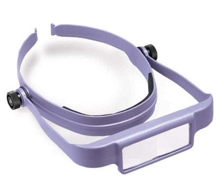 Donegan OSC OptiSIGHT Magnifying Visor Purple