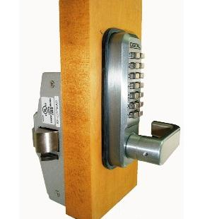 Lockey 285-P Keyless Mechanical Digital Panic Bar Exit Door Lock