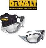 DeWalt Safety Goggles Glasses Framework Clear Anti-Fog Lens DPG95-11