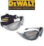 DeWalt Safety Goggles Glasses Framework Indoor Outdoor Lens DPG95-9
