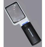Eschenbach 1511-4 Hand Held Illuminated Magnifier Mobilux LED 4x