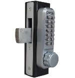 Lockey 2900DC MG Keyless Mechanical Digital Mortised Deadbolt Door Lock