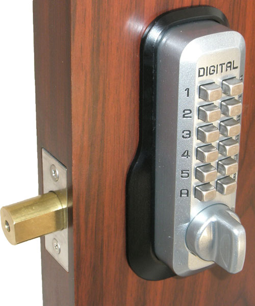 Lockey M210 Ez Mg Keyless Mechanical Digital Deadbolt Door