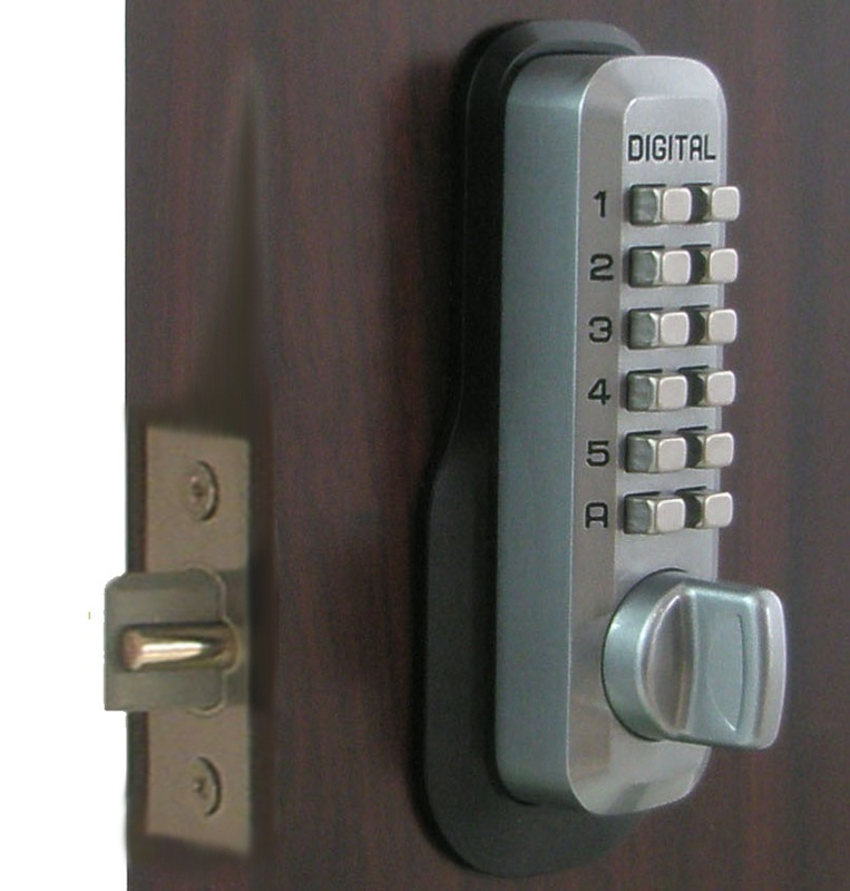 Lockey M230 Keyless Mechanical Digital Springlatch Door Lock