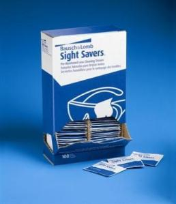 Bausch & Lomb Sight Savers Pre-Moistened Lens Cleaning Tissues 8574GM