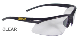 DeWalt Safety Glasses Radius Clear Lens  DPG51-1