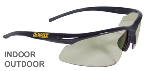 DeWalt Safety Glasses Radius Indoor Outdoor Lens  DPG51-9