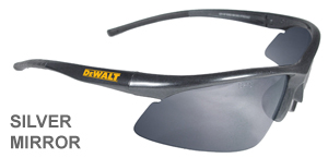 DeWalt Safety Glasses Radius Silver Mirror Lens  DPG51-6