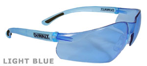 DeWalt Safety Glasses Contractor Pro Blue Lens DPG52-B