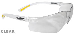 DeWalt Safety Glasses Contractor Pro Clear Lens DPG52-1