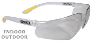 DeWalt Safety Glasses Contractor Pro Indoor/Outdoor Lens DPG52-9