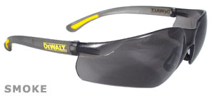 DeWalt Safety Glasses Contractor Pro Smoke Lens DPG52-2