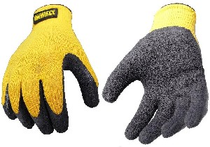 DeWalt DPG70 Gloves Textured Rubber Coated Gripper