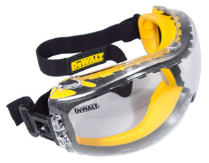 DeWalt Safety Goggles Concealer Clear Anti-Fog Lens  DPG82-11