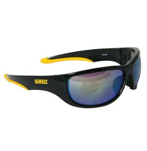 DeWalt Safety Glasses Dominator Yellow Mirror Lens DPG94-YD
