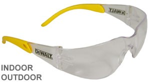 DeWalt Safety Glasses Protector Indoor/Outdoor Lens  DPG54-9D