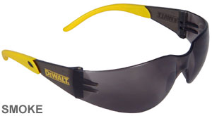 DeWalt Safety Glasses Protector Smoke Lens  DPG54-2D