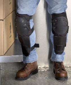 carpet knee pads. ergodyne proflex 340 knee pads heavy duty slip resistant with shinguard carpet l
