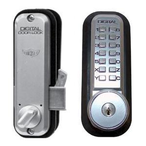 Lockey 2500ko Mechanical Digital Sliding Door Lock With