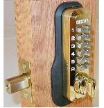 Lockey M210 Keyless Mechanical Digital Deadbolt Door Lock