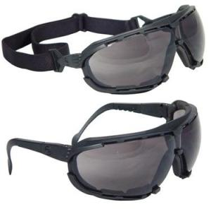 Radians Safety Glasses Goggles Dagger Smoke Anti Fog Lens Model DG1-21