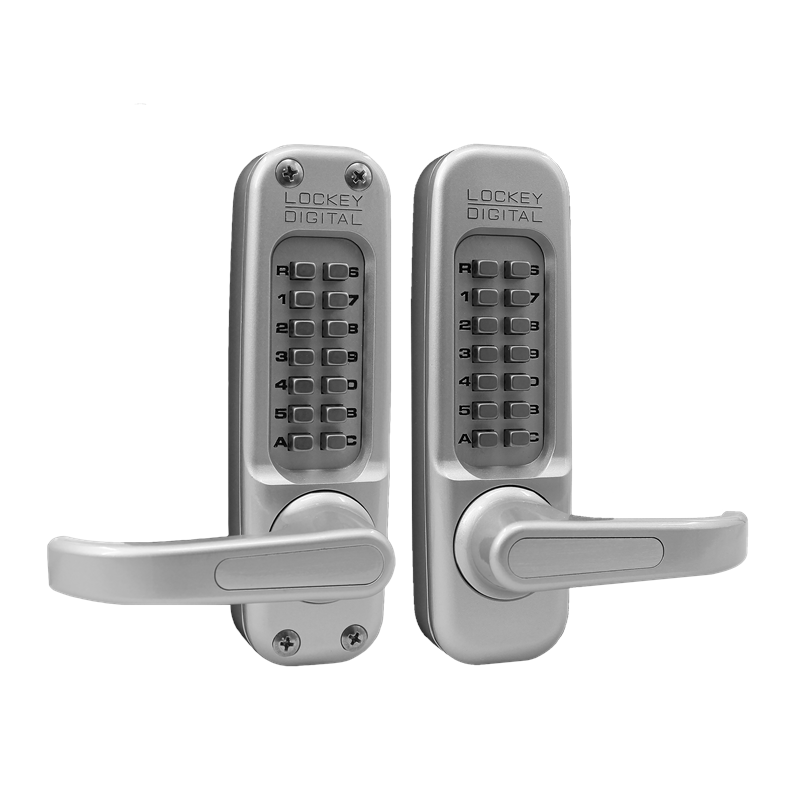 1150DC Keyless Mechanical Digital Double Sided Combination Spring Latch Door Lock