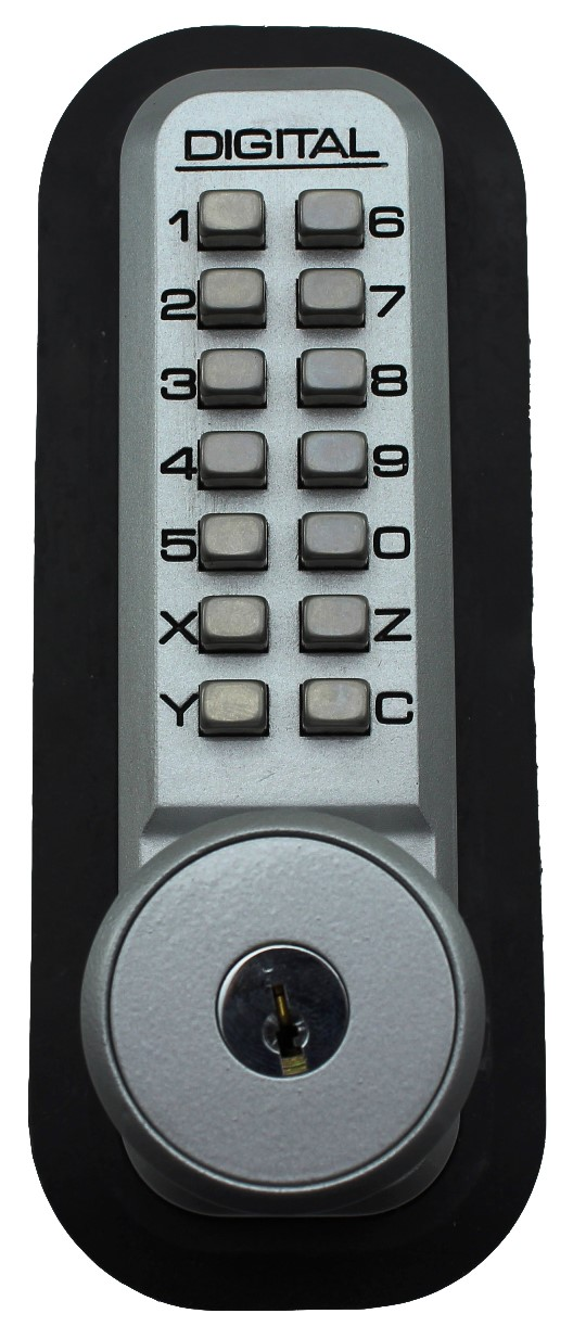 Lockey 2210KO Marine Grade Mechanical Digital Deadbolt Door Lock With Key Override