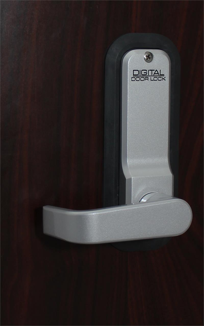 Lockey 2835 Keyless Mechanical Digital Spring Latch Door Lock