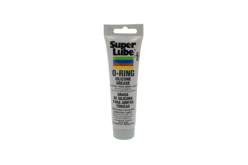 Super Lube Silicone O-Ring Grease 93003 3oz Tube