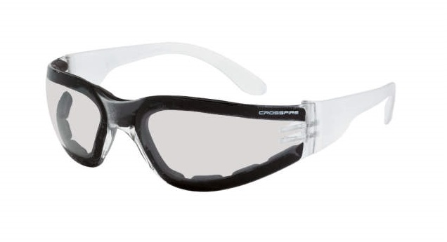 Crossfire Safety Glasses Shield 5515 AF Foam Lined