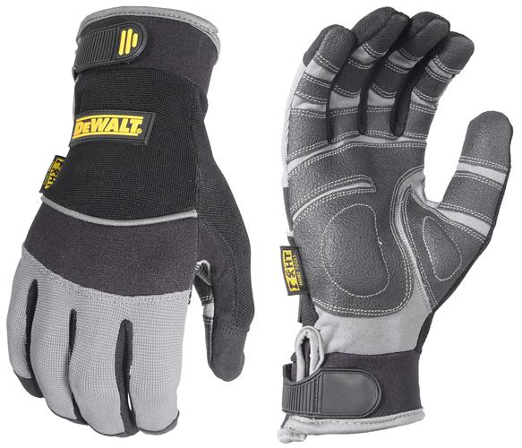 DeWalt DPG210 Gloves PVC Padded Palm