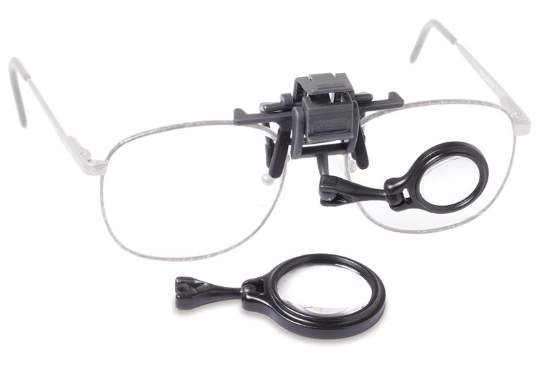 Carson OL-57 OcuLens Eyeglass Magnifier 5X and 8X