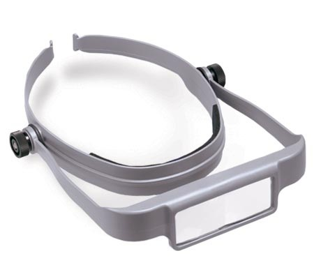 Donegan OSC OptiSIGHT Magnifying Visor Gray