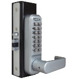 Lockey 2985DC MG Keyless Mechanical Digital Adams Rite Style Latch Door Lock