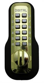 Lockey M210 Bright Brass Outside